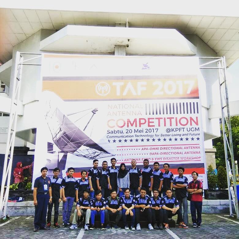 Tim Antena IST AKPRIND Yogyakarta mengikuti event 10th Techno Antenna Fair 2017