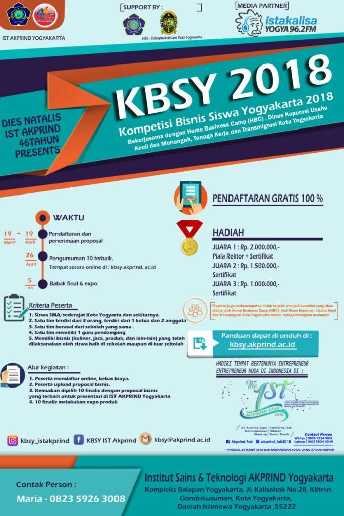 KBSY 2018 Teknik Elektro IST AKPRIND Yogyakarta
