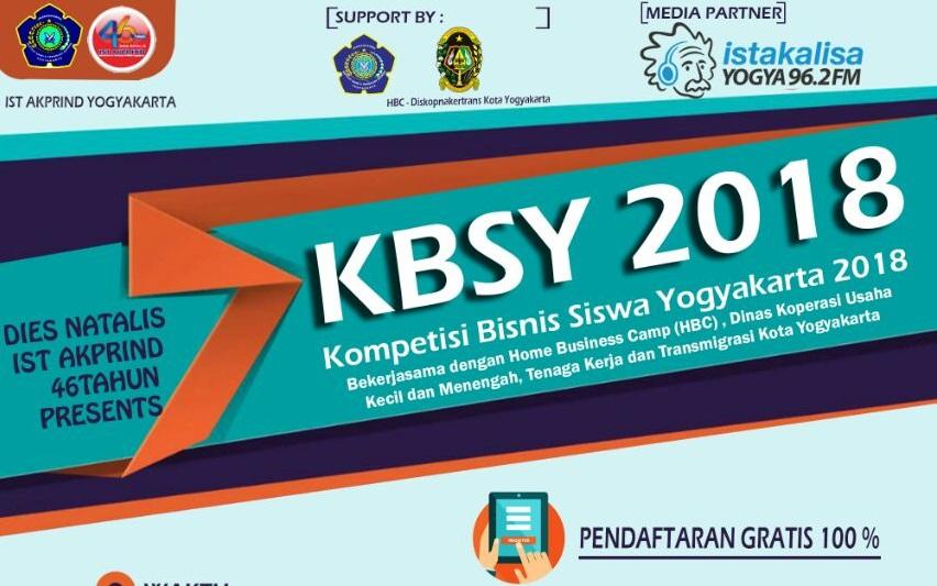 Ikuti Kompetisi Bisnis Siswa Yogyakarta (KBSY 2018)