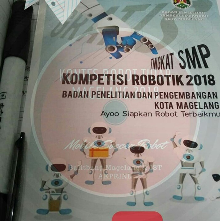 [COMING SOON] Robot Soccer Competition Magelang 2018