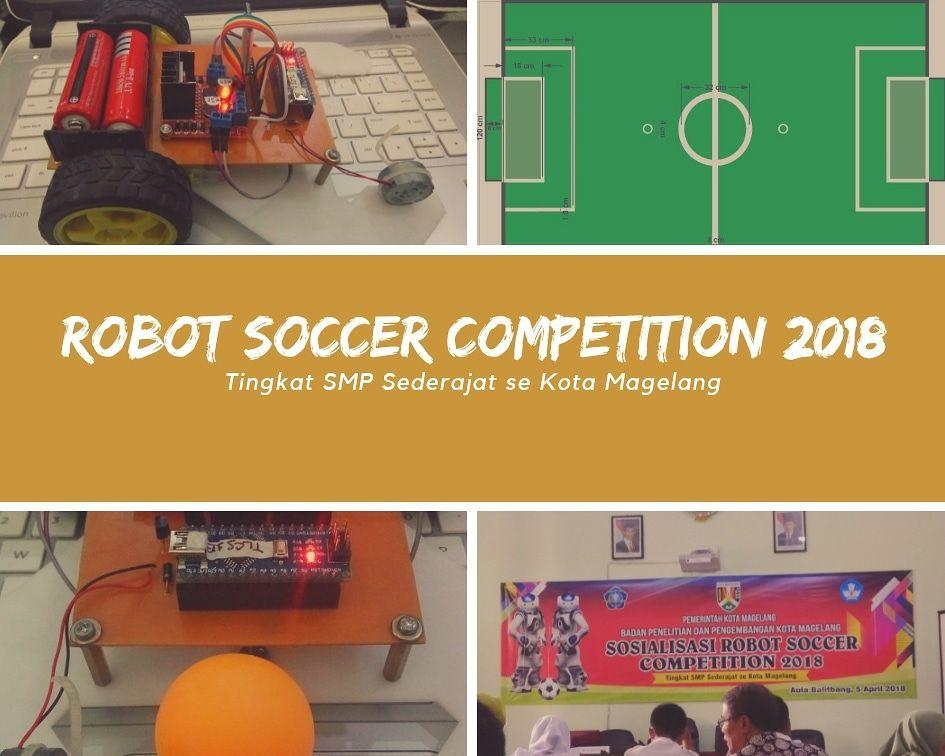 Robot Soccer Balitbang Magelang dan Teknik Elektro IST AKPRIND