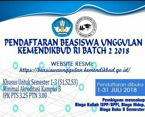 Info Beasiswa Teknik Elektro IST AKPRIND Yogyakarta