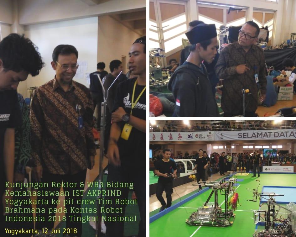 Kunjungan Rektor IST AKPRIND dalam KRI 2018_Jurusan Teknik Elektro