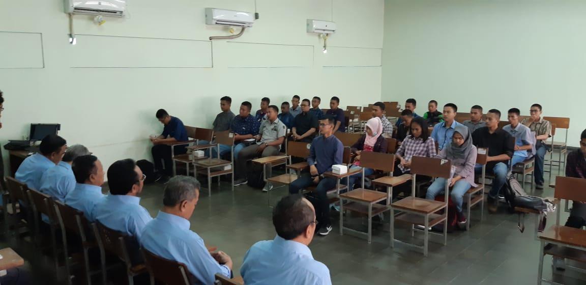 Sasidiwa Jurusan Teknik Elektro dengan Mahasiswa Baru Teknik Elektro 2018