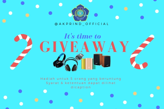 Time To Give Away Spesial Wisuda