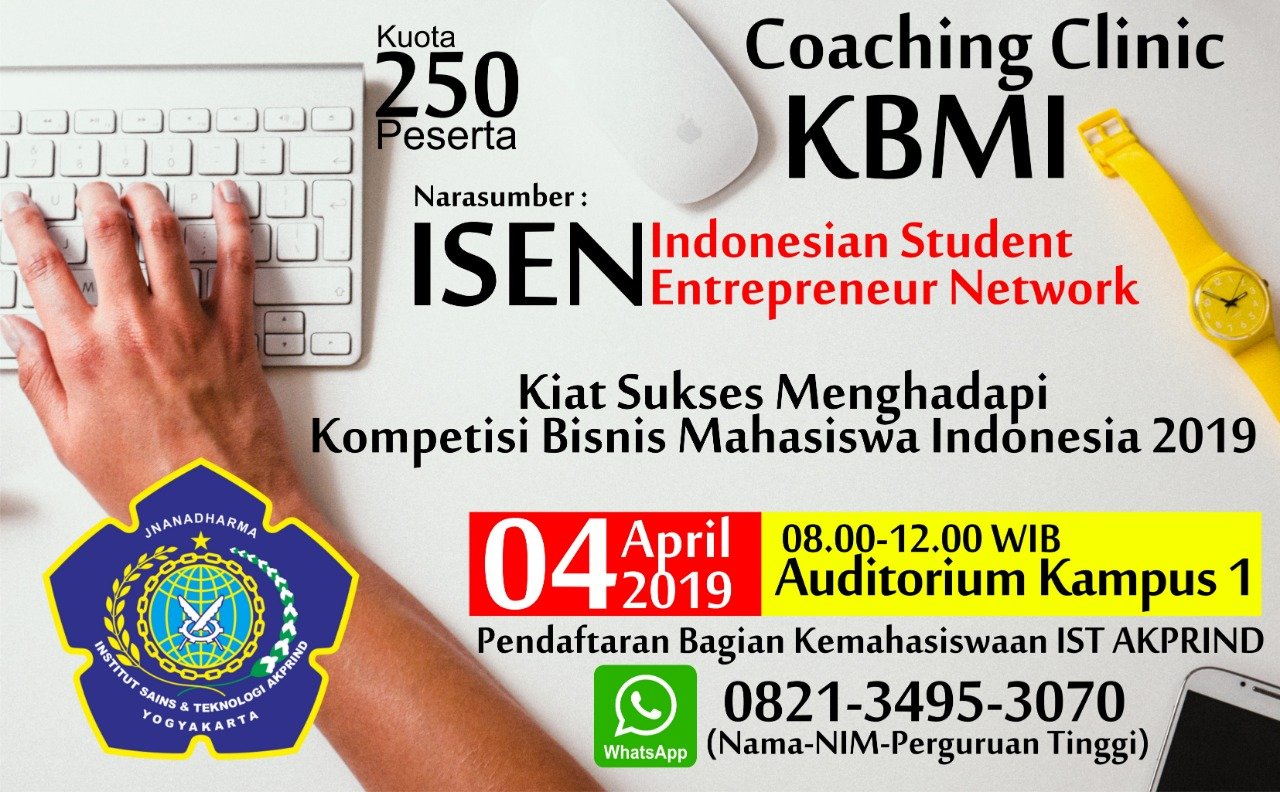 Coaching Klinik KBMI 2019