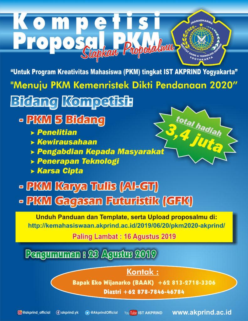 kompetisi proposal PKM teknik elektro akprind