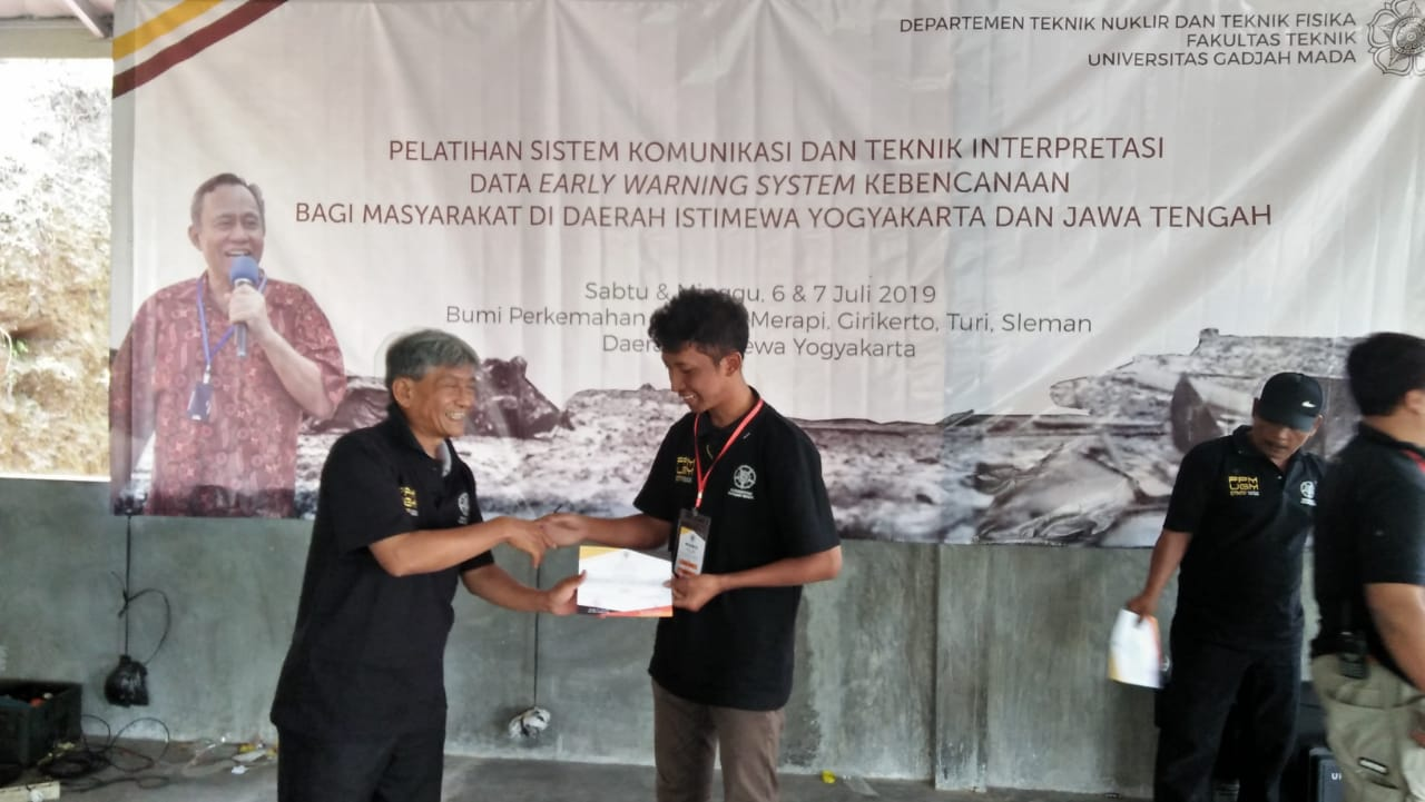 Syarif Maulana, Mahasiswa Elektro Sabet Juara 1 Lomba Setting Antena