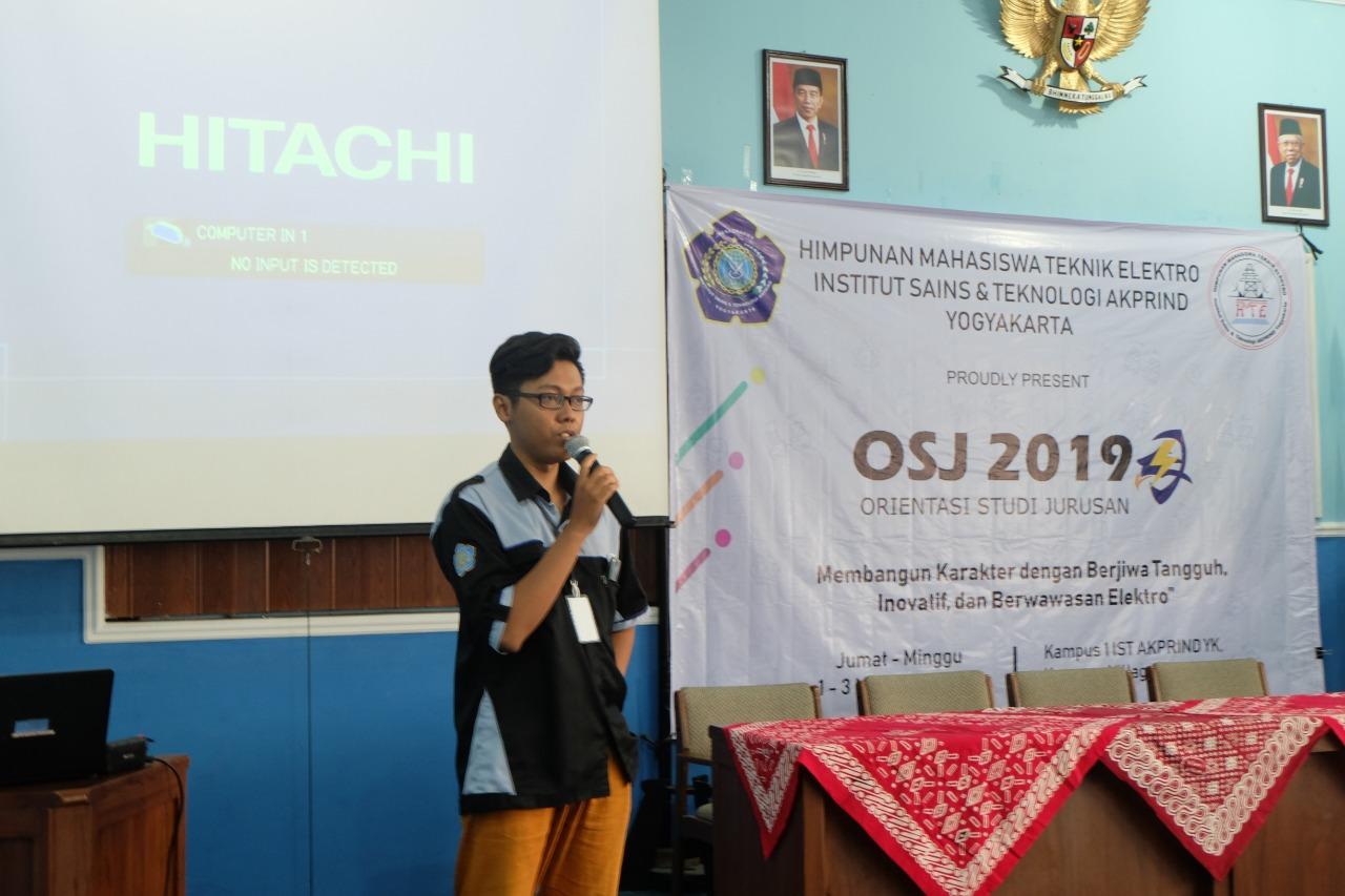 Kenalkan Jurusan Melalui Workshop Elektronika Pada OSJ 2019