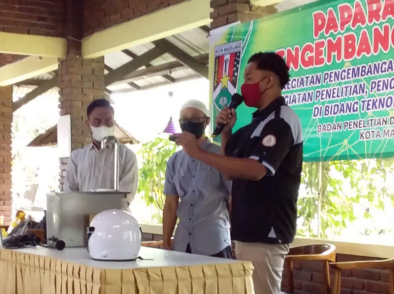 Mahasiswa Elektro mengikuti Pemaparan Hasil Produk Pengembangan dan Penerapan Iptek bersama dengan tim Pendamping dari IST AKPRIND Yogyakarta dan UMM Magelang